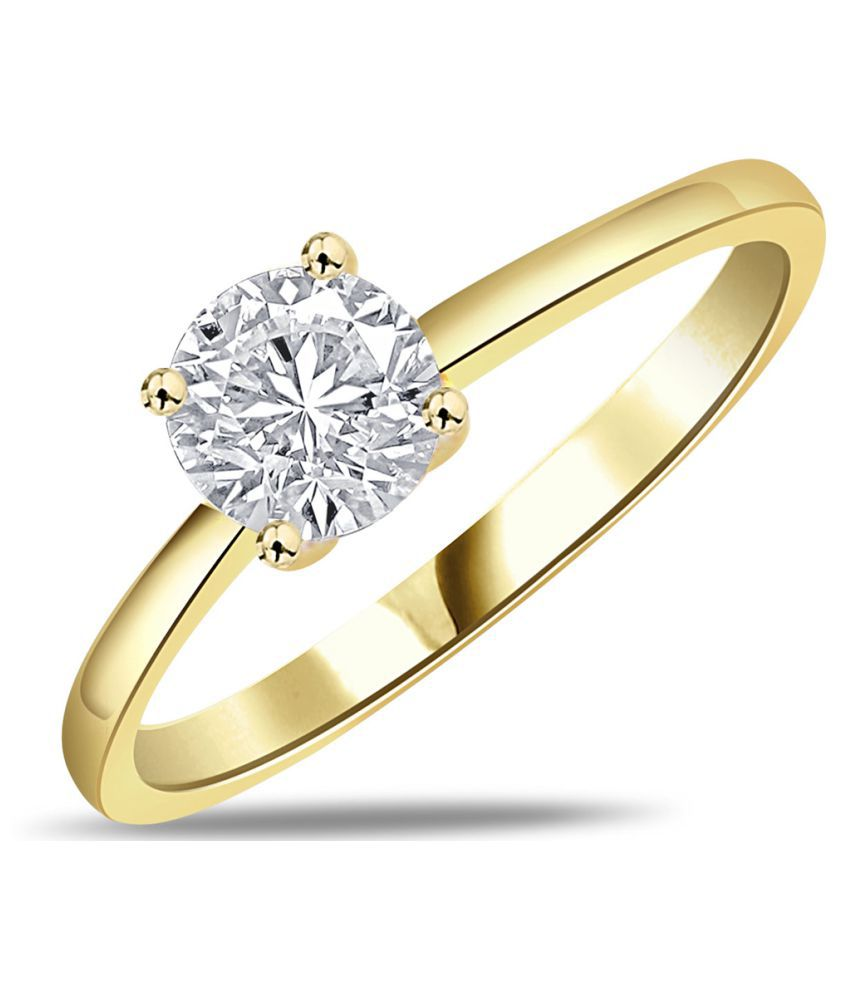 Amogh Jewels 14k Yellow Gold Ring