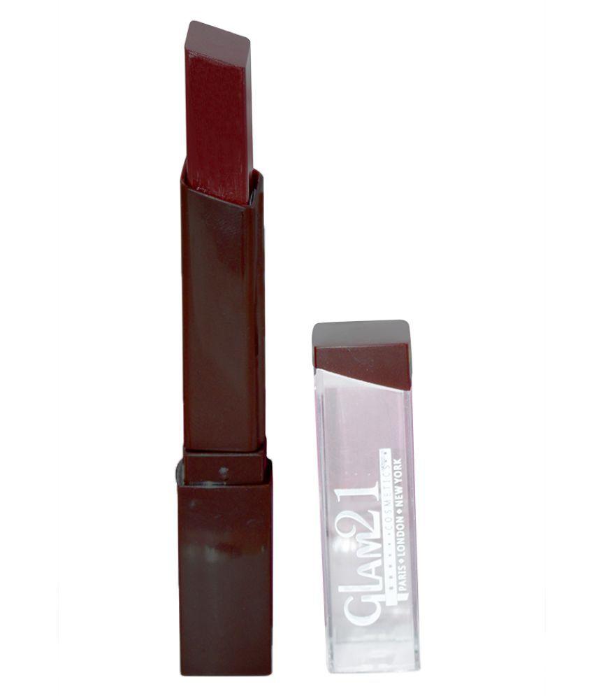 GLAM 21 Good Choice India Creme Lipstick Brown