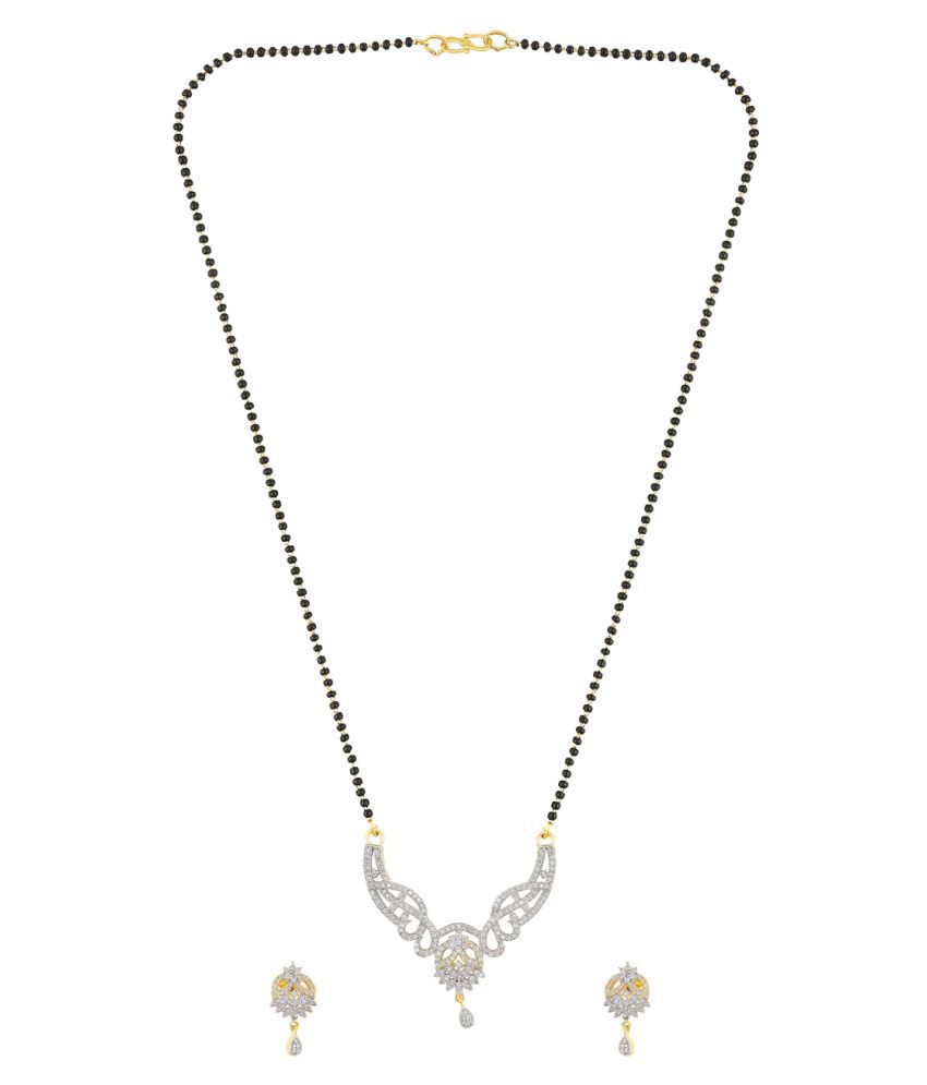 Fasherati Studded  Mangalsutra with Chain