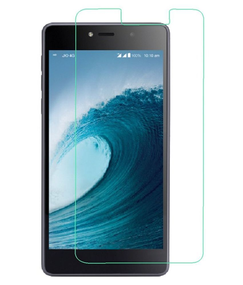 LYF Wind 3 Tempered Glass Screen Guard By Hutz