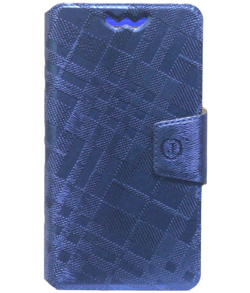 Asus ZenFone Zoom Flip Cover by Jojo - Blue