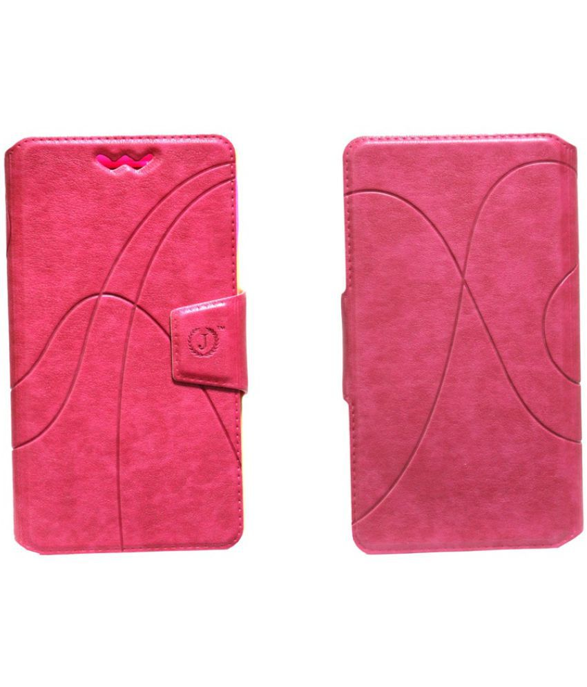 Gionee Elife E8 Flip Cover by Jojo - Pink