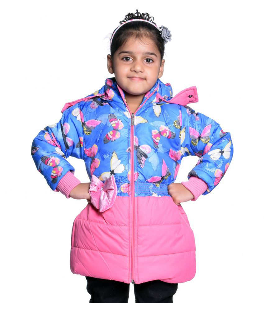Come In Kids Multicolor Quilted and Bomber Jacket