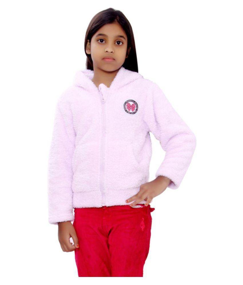 SML Originals Baby Pink Fleece Denim Jacket