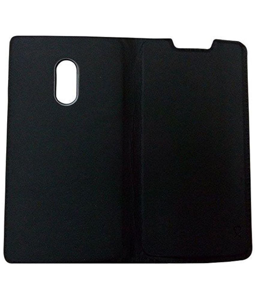 outlet store 8e6f0 7383d Lenovo Vibe X3 Flip Cover by Wtc - Black - Flip Covers Online at Low ...