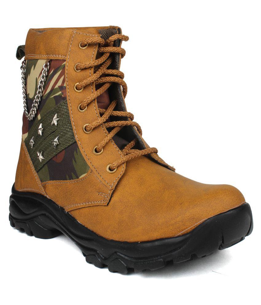 Pede Milan Tan Casual Boot