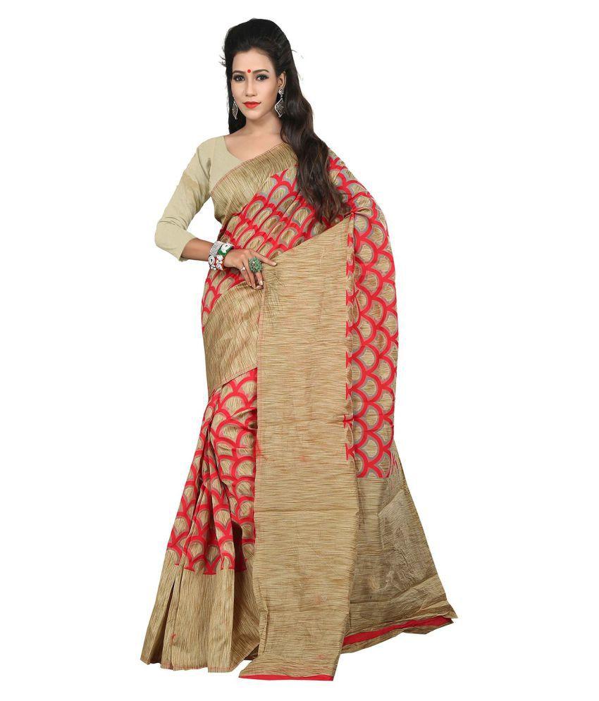 Silk Zone Multicoloured Silk Saree