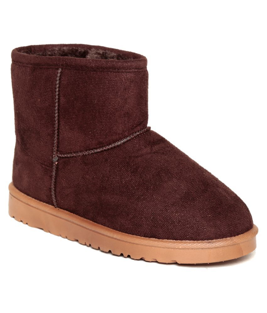 10b74309476 Ten Brown Ankle Length UGG Boots
