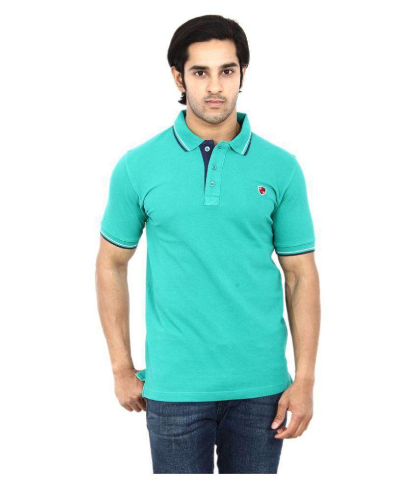 Stackia Turquoise Henley T-Shirt