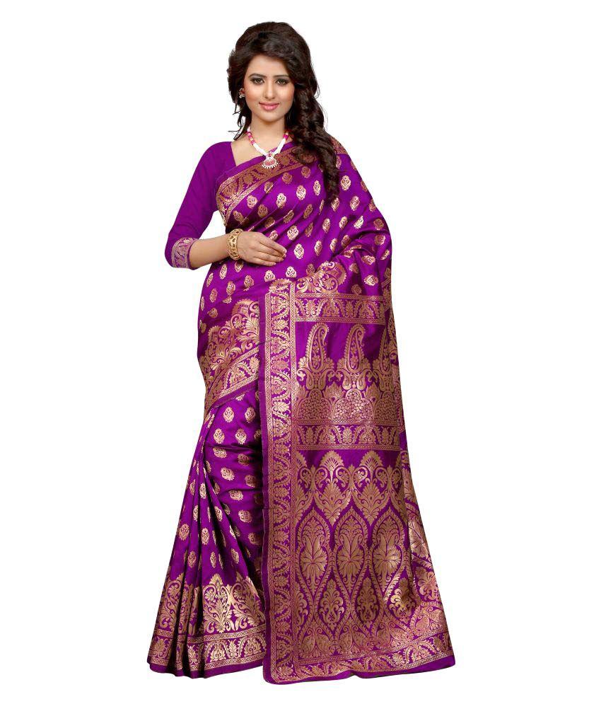 Inheart Multicoloured Tussar Silk Saree