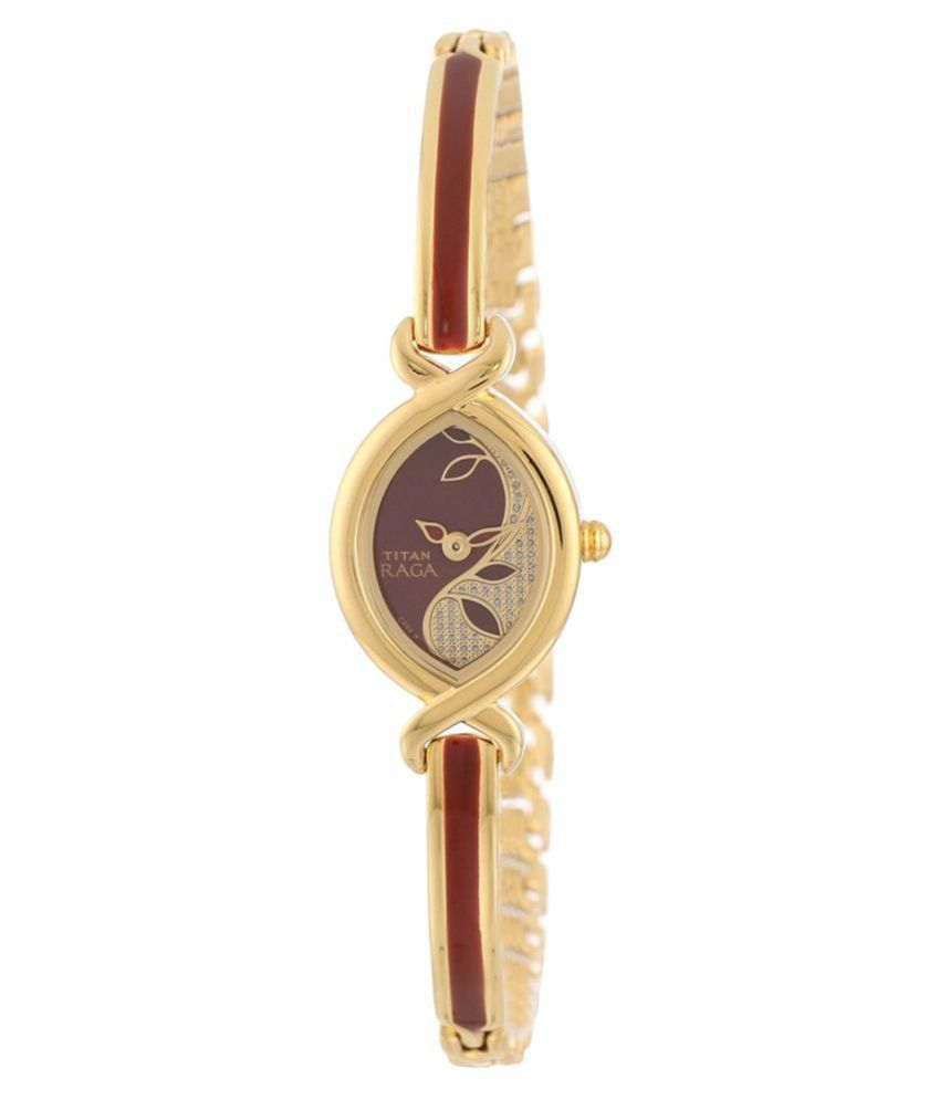 5951e4c57 Titan Raga Analog Red Dial Women  039 s Watch NC2251YM23 available at  SnapDeal for