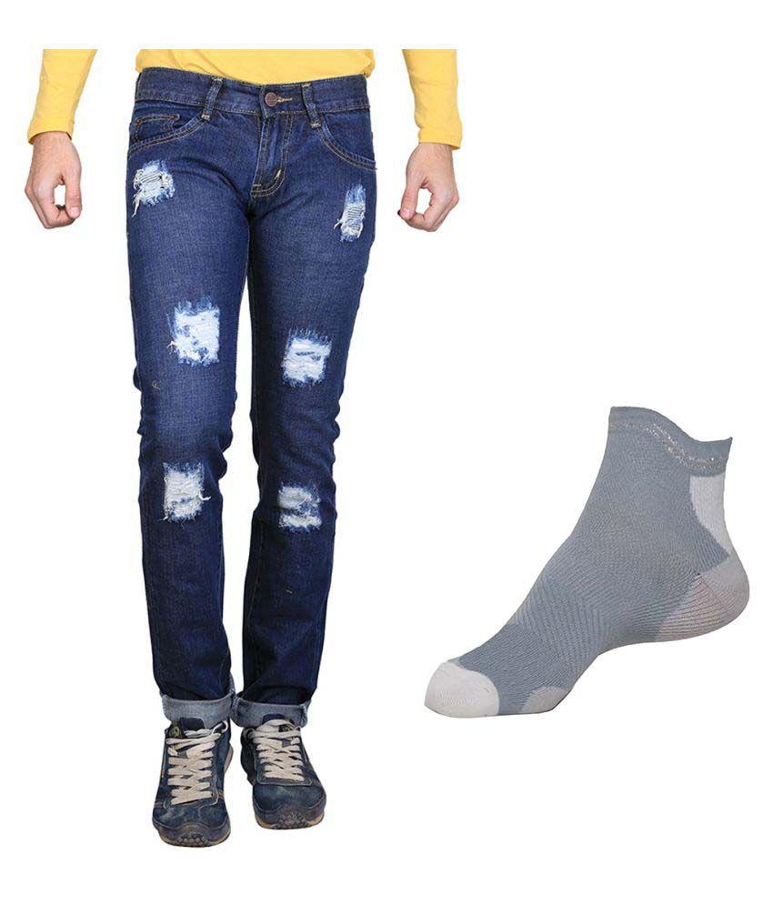Van Galis Blue Regular Fit Solid