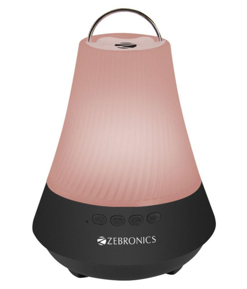 Zebronics lamp black Bluetooth Speaker - Black