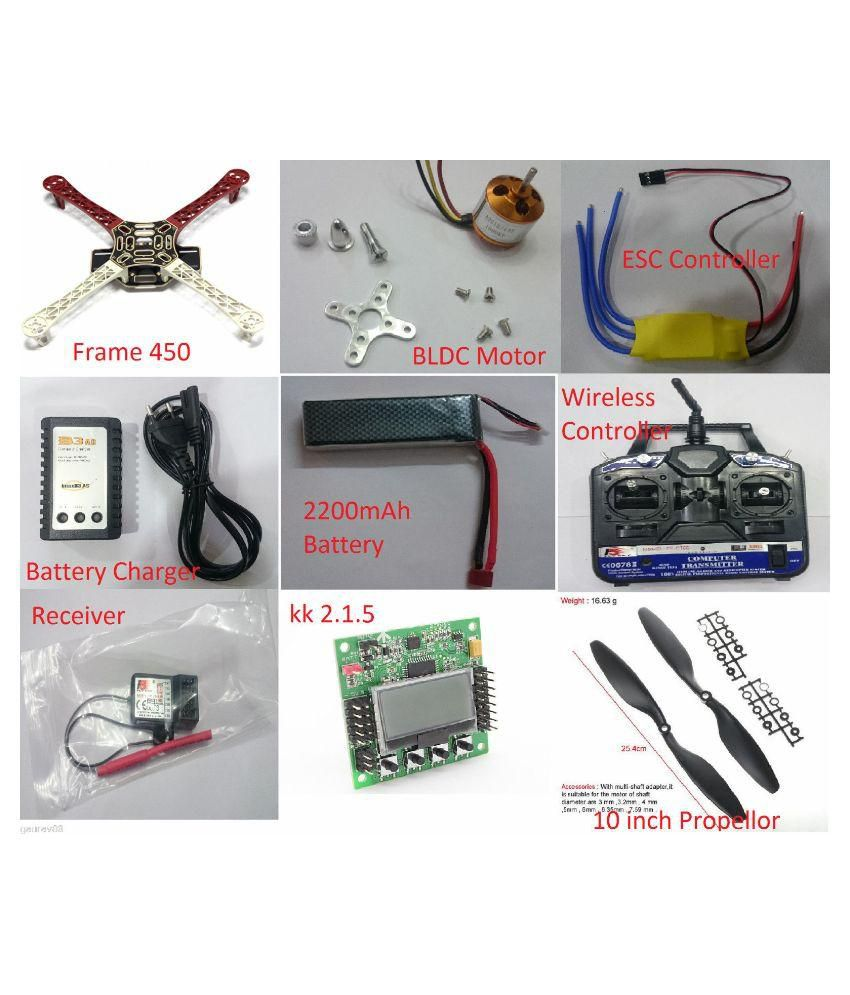 Fancy Jet Tricopter Kk2.1.5 Component - Electrical Circuit Diagram ...