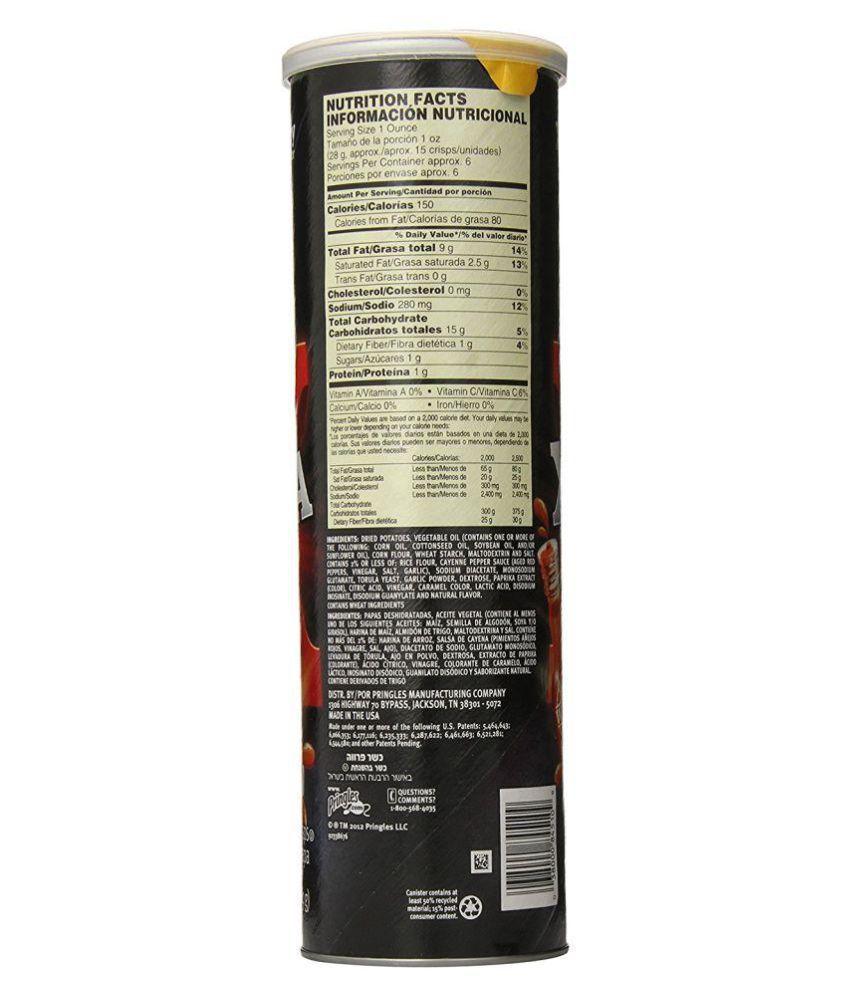 Pringles Potato Chips Tangy 169 gm