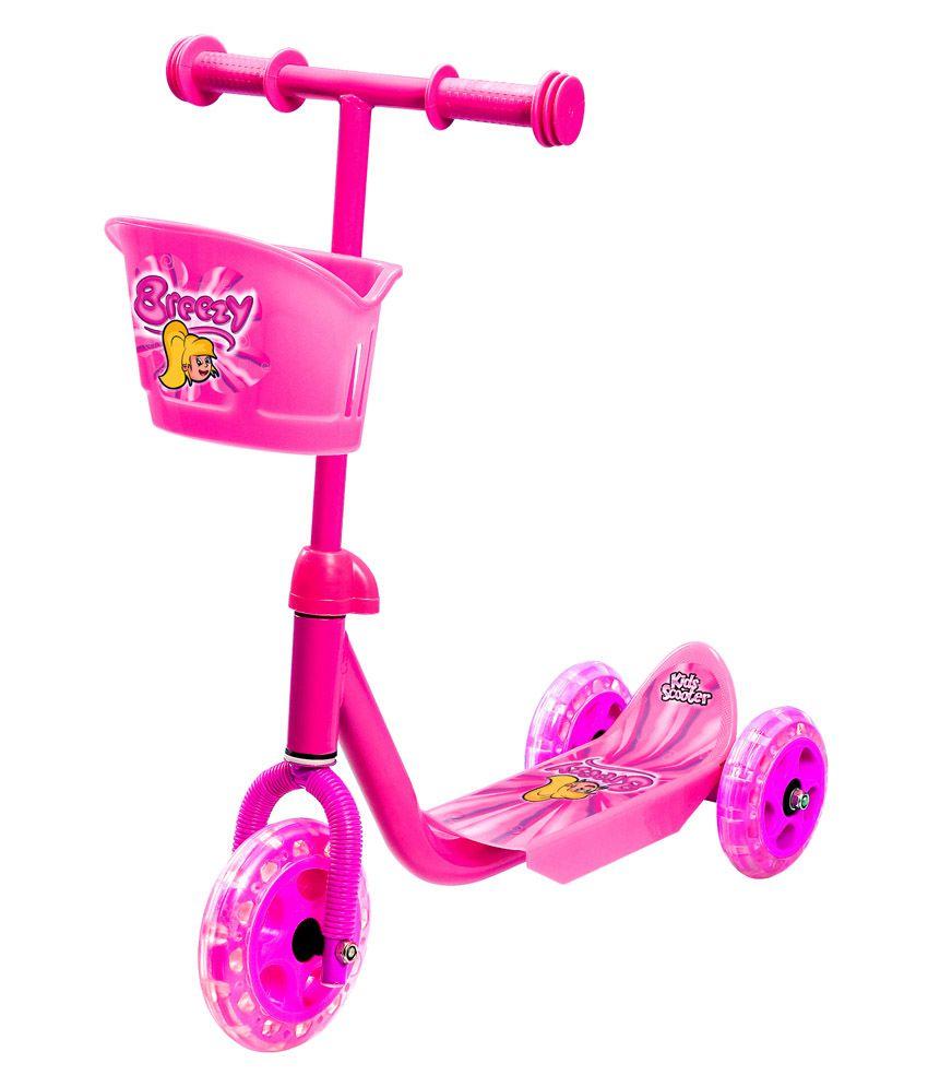 Toyhouse Breezy Three Wheel Skate Scooter
