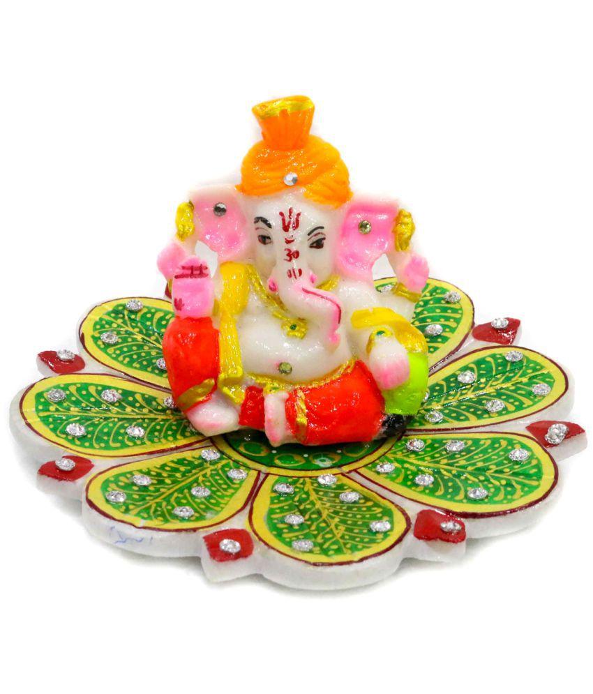 Craftvillage Ganesha Marble Idol