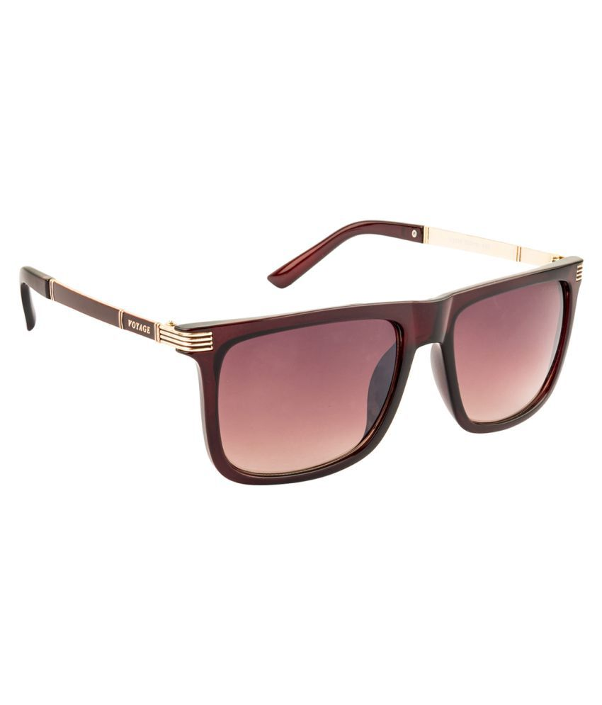 VOYAGE Brown Square Sunglasses ( V1116MG1562 )