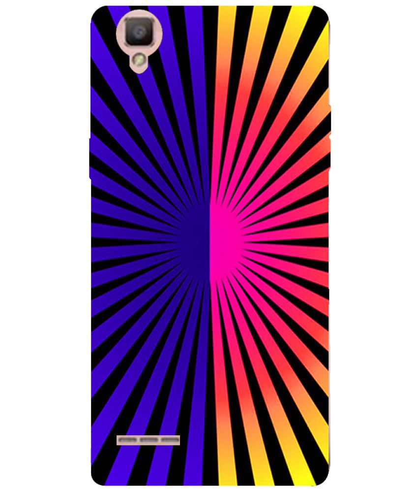 Oppo F1 Printed Cover By Cell First