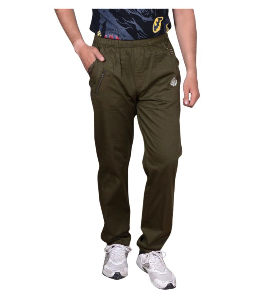 GDS Green Regular Flat Trouser