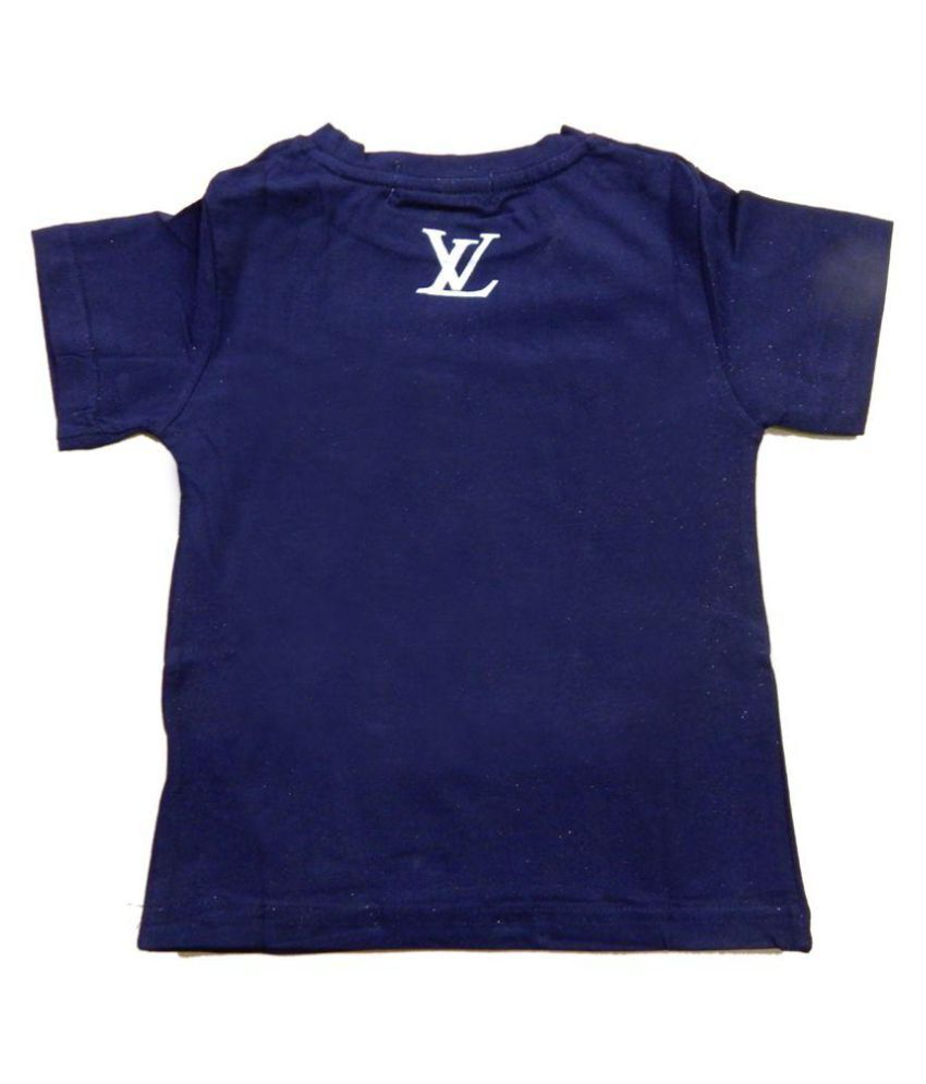 aaec5081f24d Louis Vuitton Navy Blue T-Shirt For Boys - Buy Louis Vuitton Navy ...