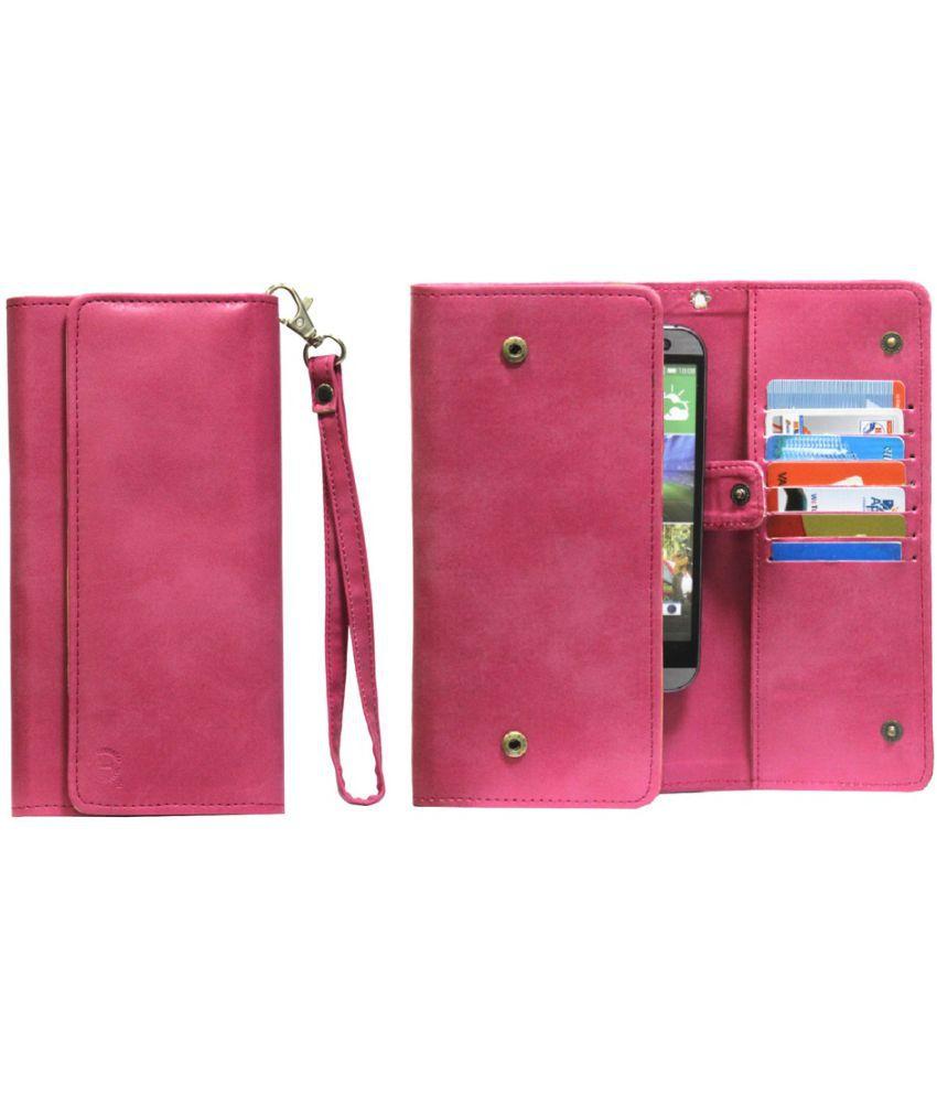 Panasonic Eluga Note Holster Cover by Jojo - Pink