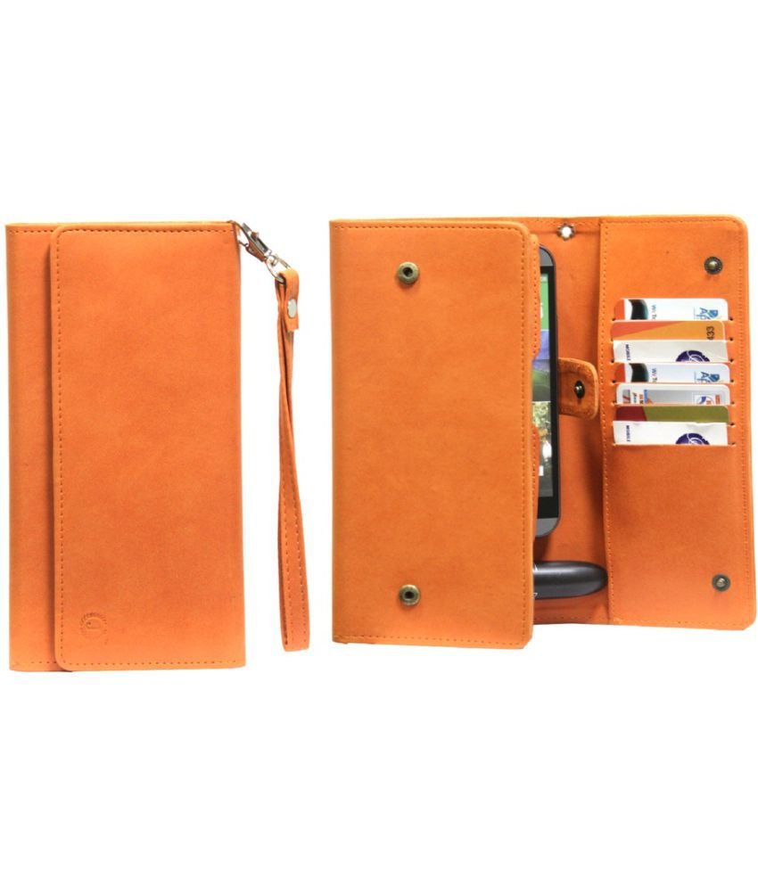 Samsung Galaxy j3 Holster Cover by Jojo - Orange
