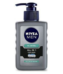 Nivea Men Oil Control All In One Pump  Face Wash 150 Ml Pack Of 2