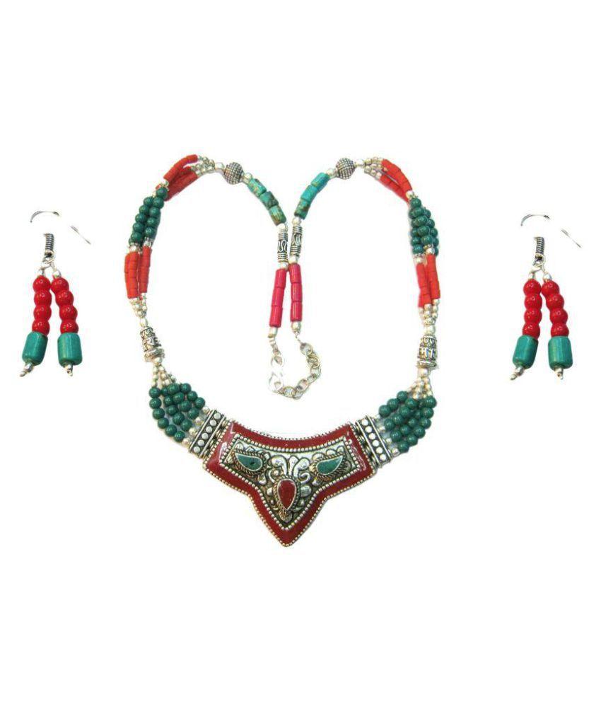 Vinayak Multicolour Necklace Set