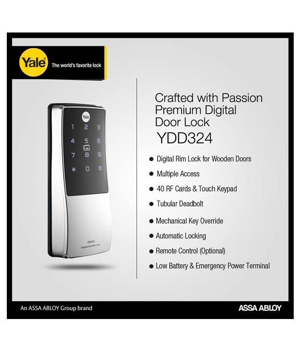 Yale Digital Door Lock Price