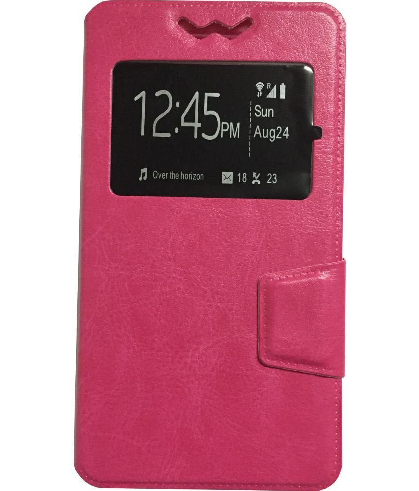 separation shoes b0964 61803 Vivo Y11 Flip Cover by Lomoza - Pink