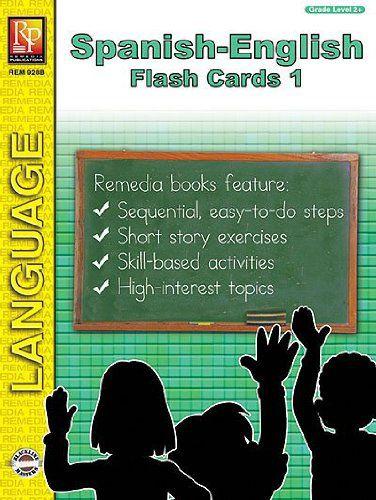 Remedia Publications 928 B Spanish English Flash Cards 1
