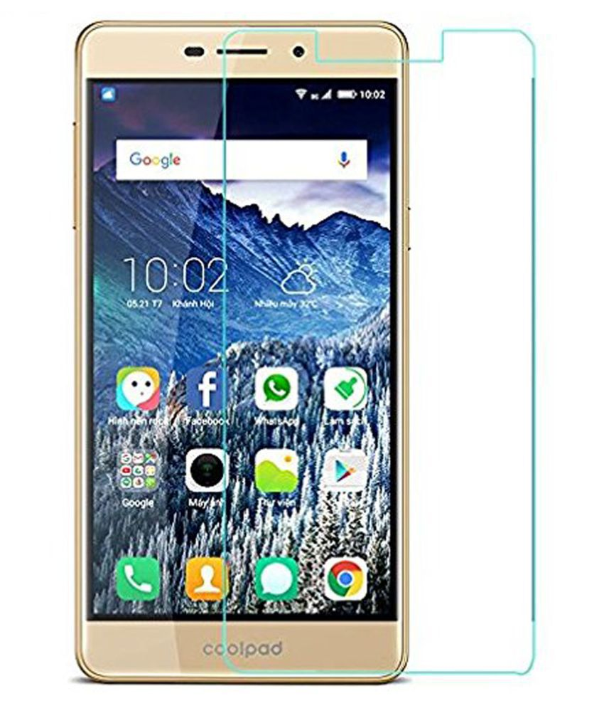 Coolpad Mega 2.5D Tempered Glass Screen Guard By Hook