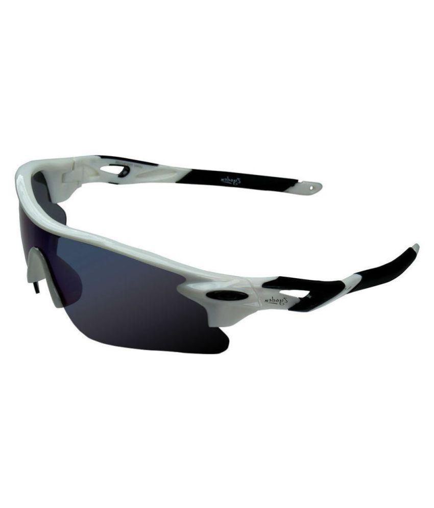 online for sale exquisite style outlet for sale Zyaden - Blue Wrap Around Sunglasses ( SP-05 )