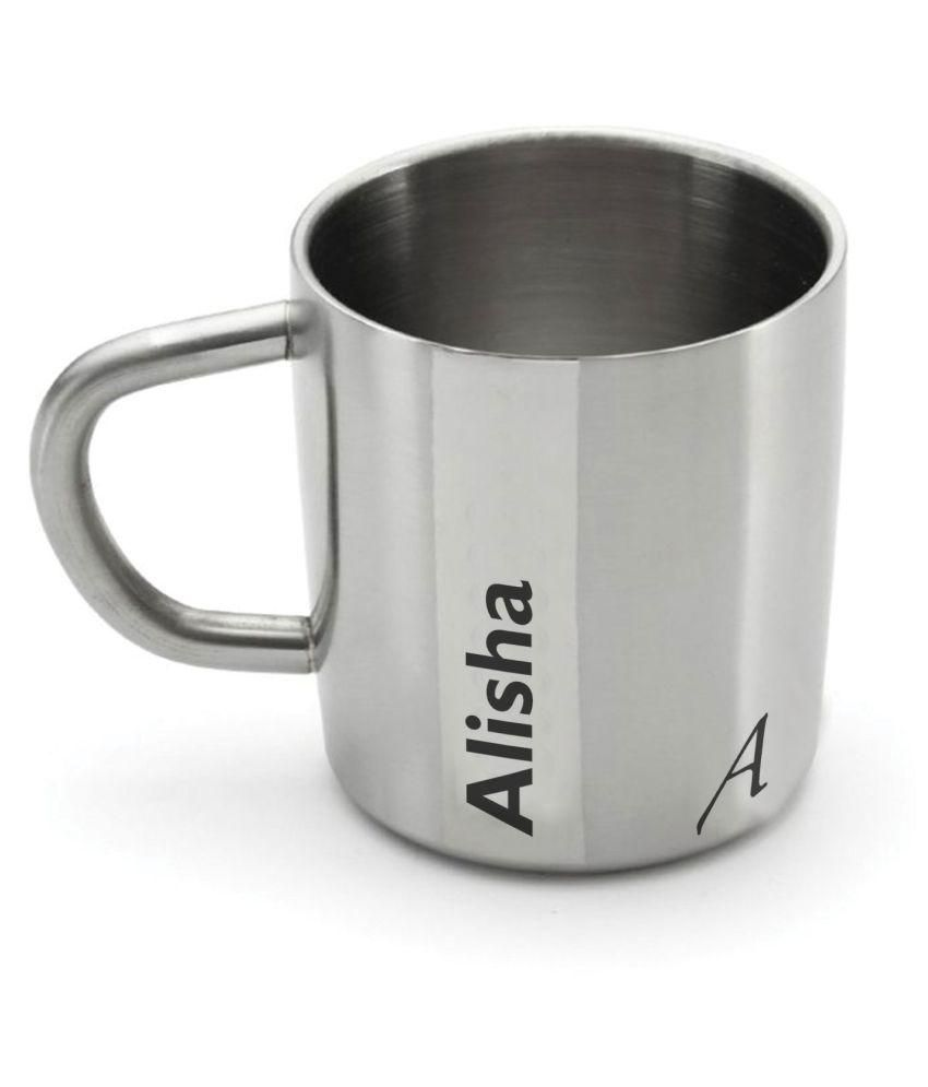 Hot Muggs Steel Coffee Mug 1 Pcs 200 ml
