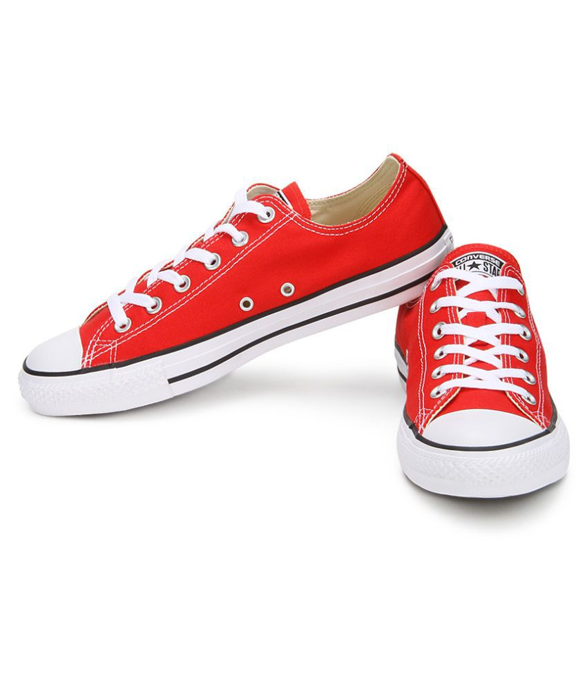 9390797f5bd9 Converse All Star 150770CCTOX Normal Sneakers Red Casual Shoes - Buy ...
