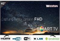Weston WEL-4000S 101 cm ( 40 ) Smart Full HD (FHD) LED Television