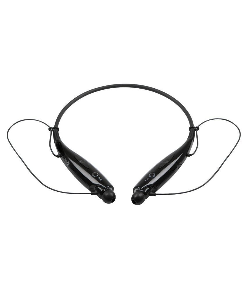 Jiyanshi Videocon A10 Wireless Bluetooth Headphone Black