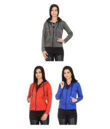 New Fashion Multi Color Fleece Hooded