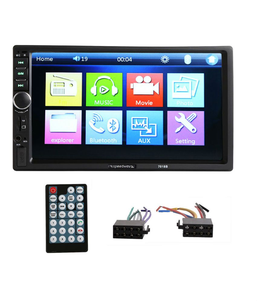 Speedwav 7018B Double Din Touchscreen HD 17.78 cm (7) Car Stereo