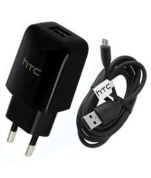 HTC 1.5 Amp Wall Charger Adapter for HTC Desire Android Mobile Phones By HTPTech