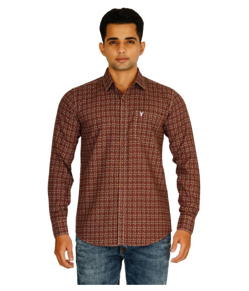 Amerison Multi Casuals Slim Fit Shirt