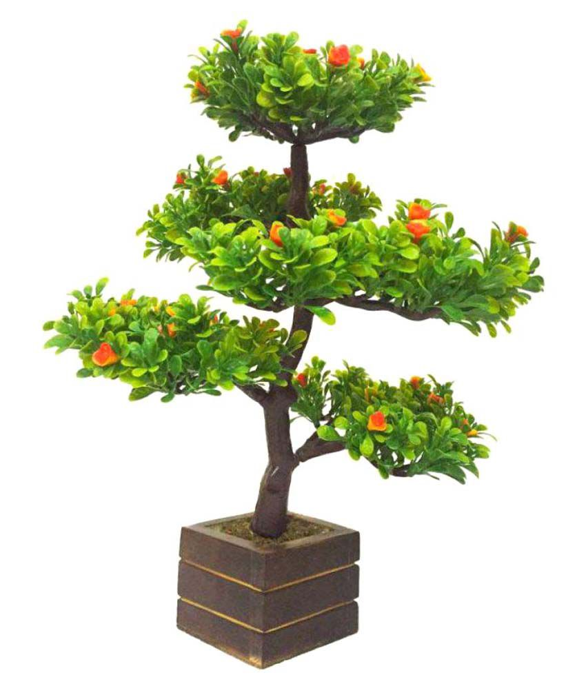 UC Artificial Bonsai Tree Multicolour Bonsai Plastic