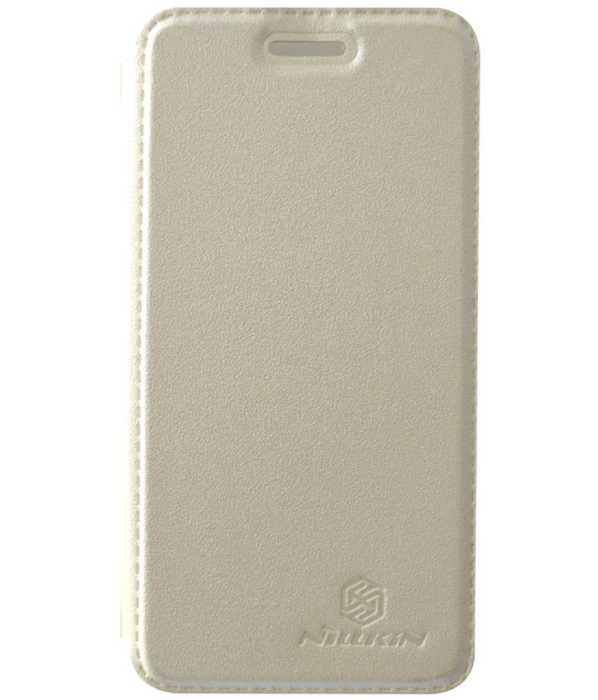 Asus Zenfone C Flip Cover by coverage - White