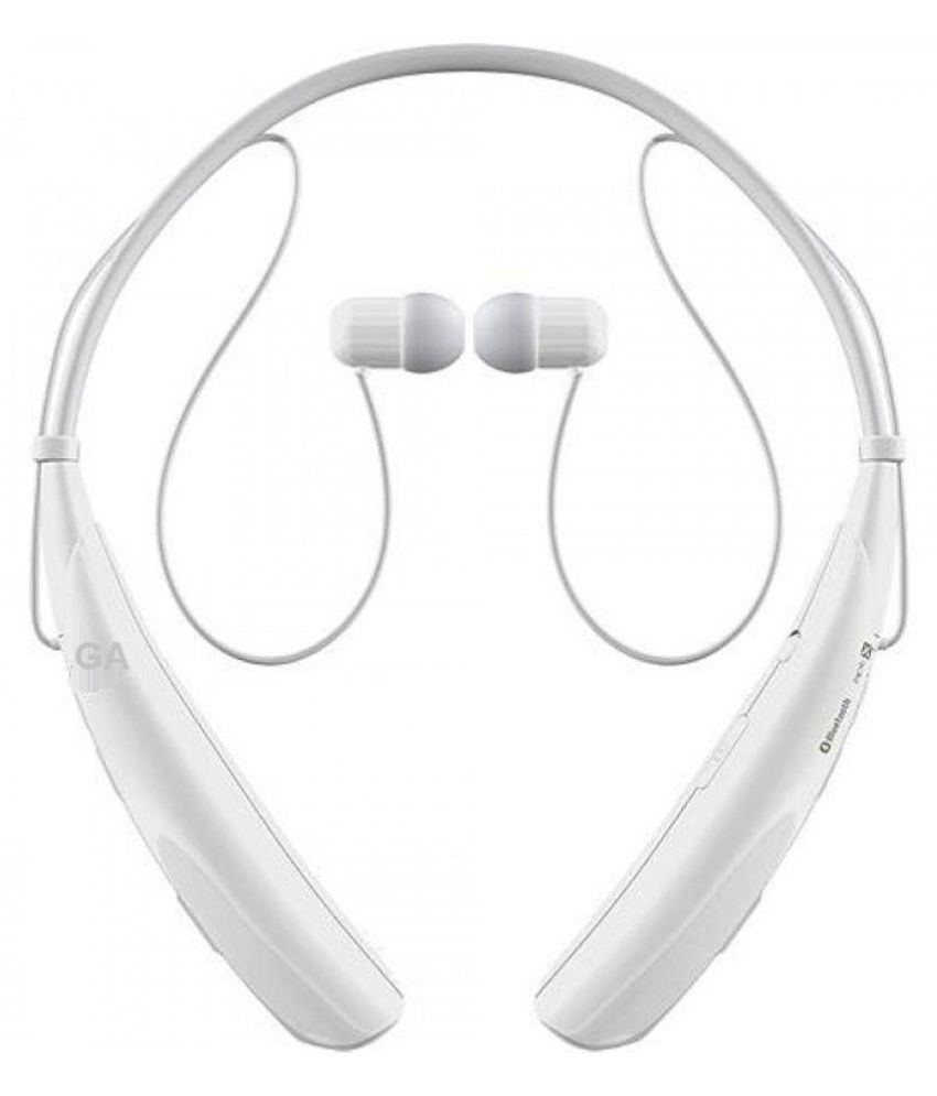 General Aux On Ear Wireless Headphones With Mic White