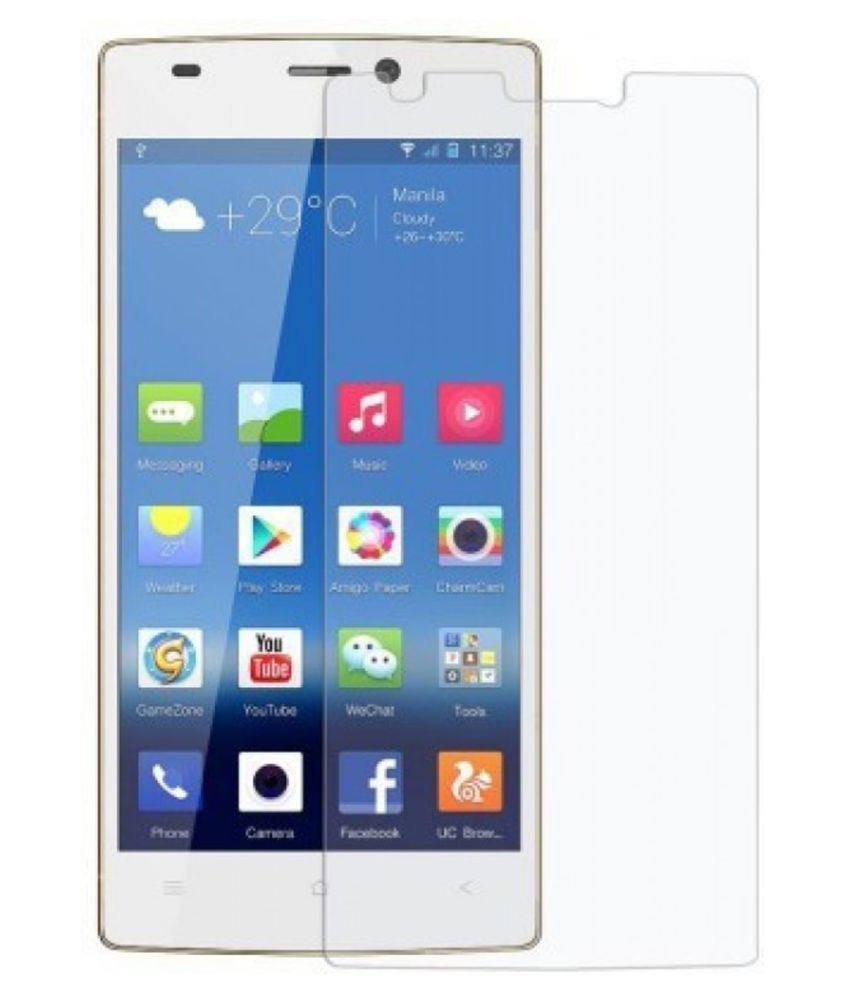 Gionee Pioneer P6 Tempered Glass Screen Guard By Hook