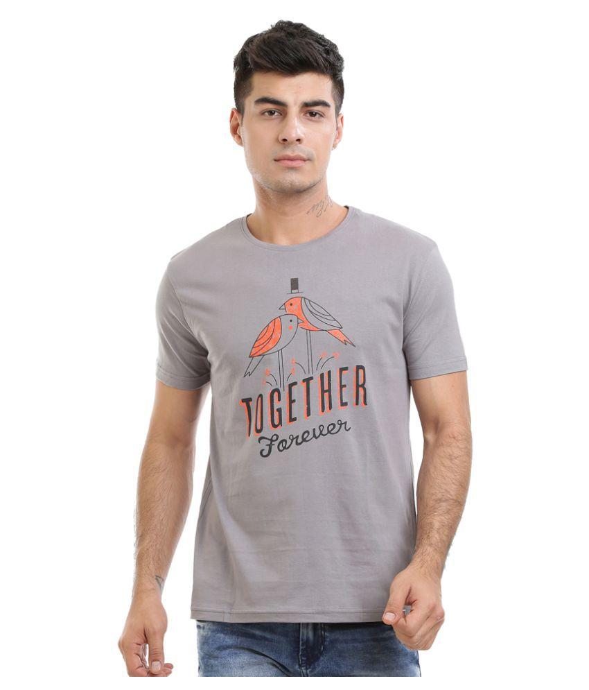 HW Grey Round T-Shirt