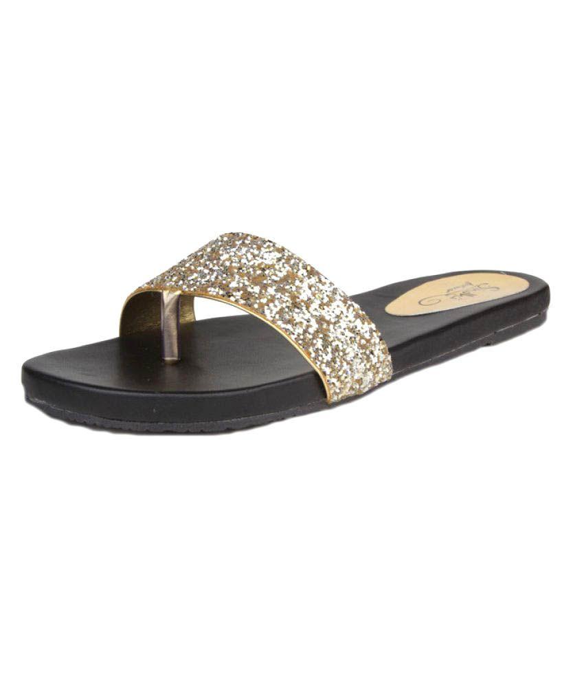 Sindhi Footwear Black Flats