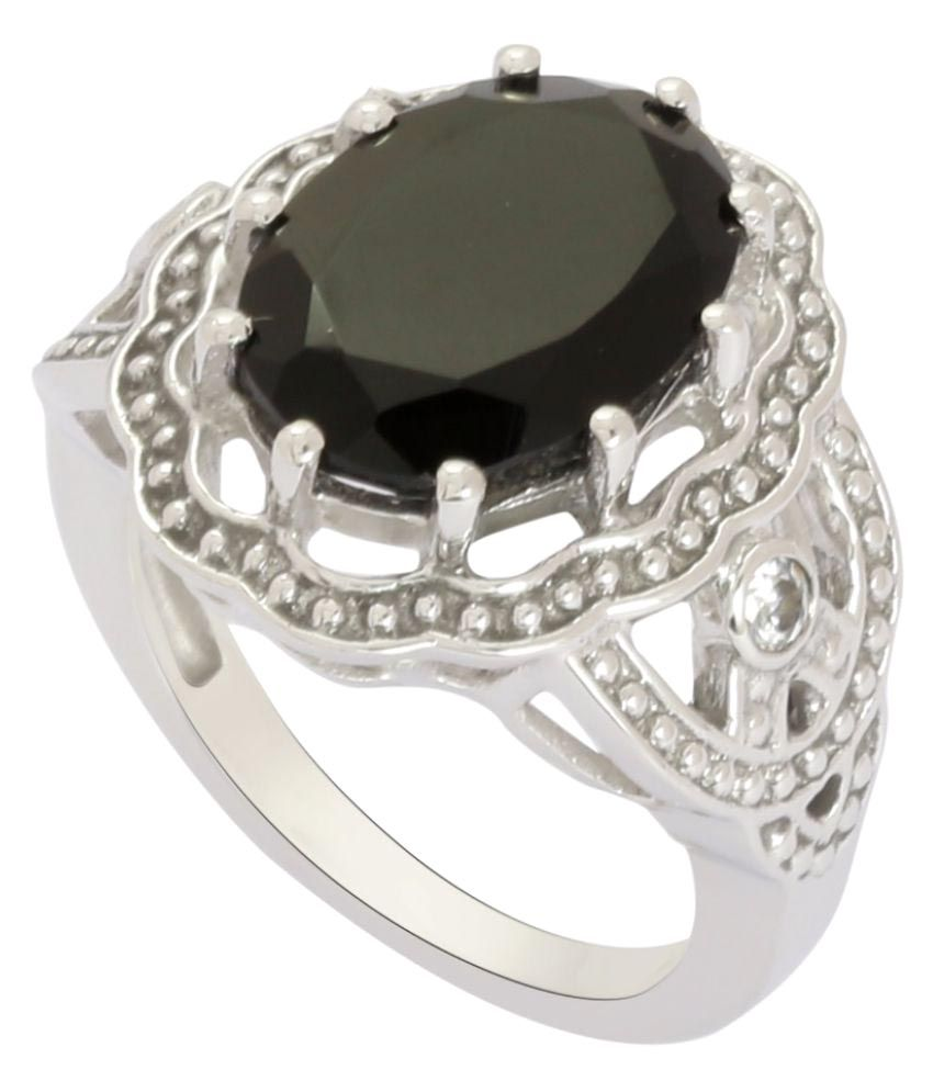Shine Jewel 92.5 Silver Onyx Ring