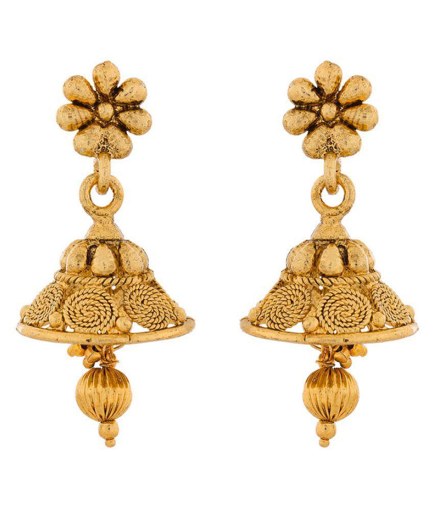 The Luxor Golden Earrings